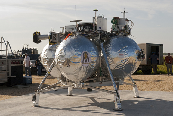 Morpheus test lander