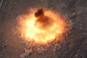 BLU 82 Daisy Cutter Fireball