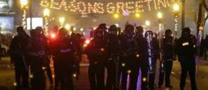 Ferguson Cop Line