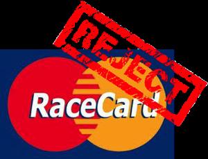 RACECARDREJECT
