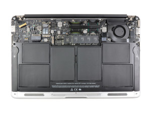 Inside a Macbook Air