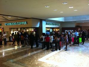 Starbucks line