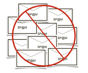 Stop spam email 1