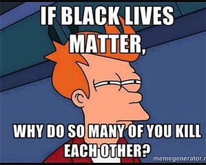 If black lives matter cartoon