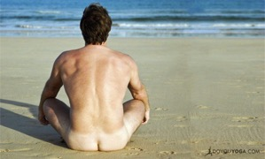 Nude Yoga For Men On the Rise 733x440