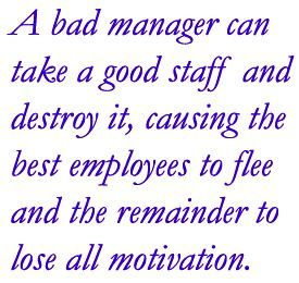 Bad Manager quote