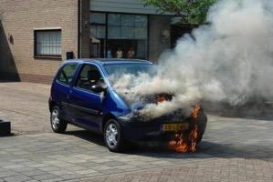 Overheated Car