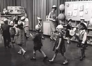 Romper room marching